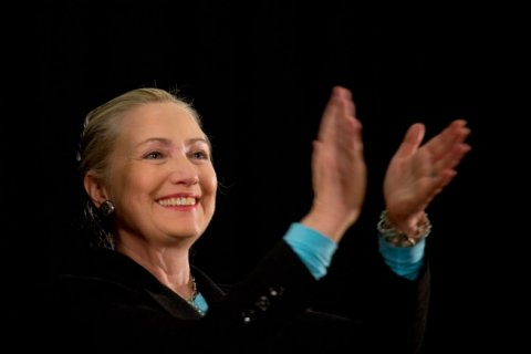 2012 photograph of Hillary Clinton